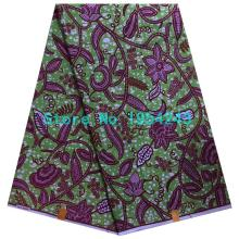Wholesale price african ankara veritable super wax hollandais prints fabric 100% cotton 6yards super wax hollandais HHX-21(China)