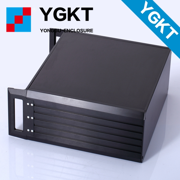 445*133.5-300mm (wxhxd) 3u wall mounting aluminum project pcb electronic case/aluminum housing/customized junction box 4pcs a lot diy plastic enclosure for electronic handheld led junction box abs housing control box waterproof case 238 134 50mm