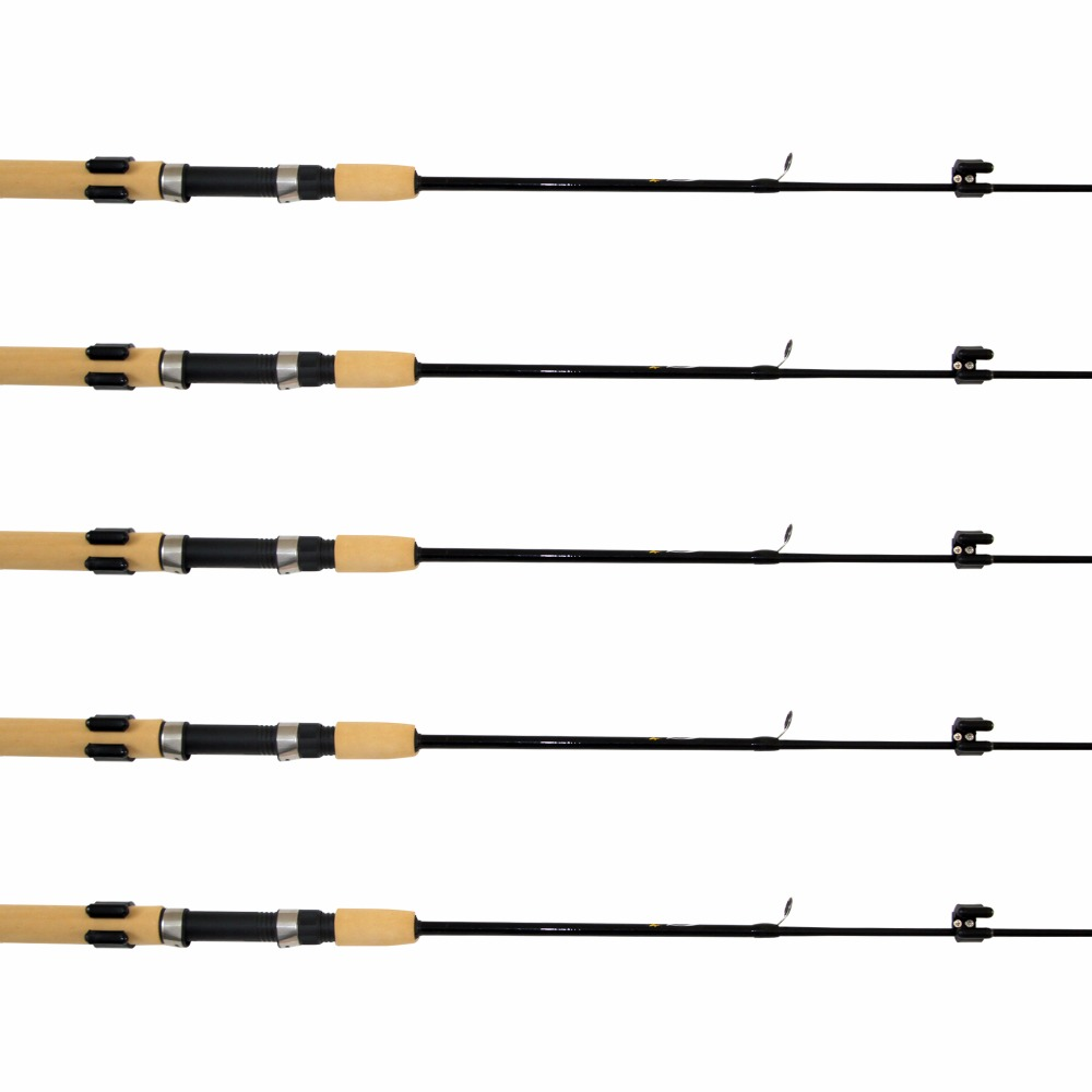 PACK OF x 50 SOFT RUBBER FISHING POLE RIG WINDER  ANCHORS