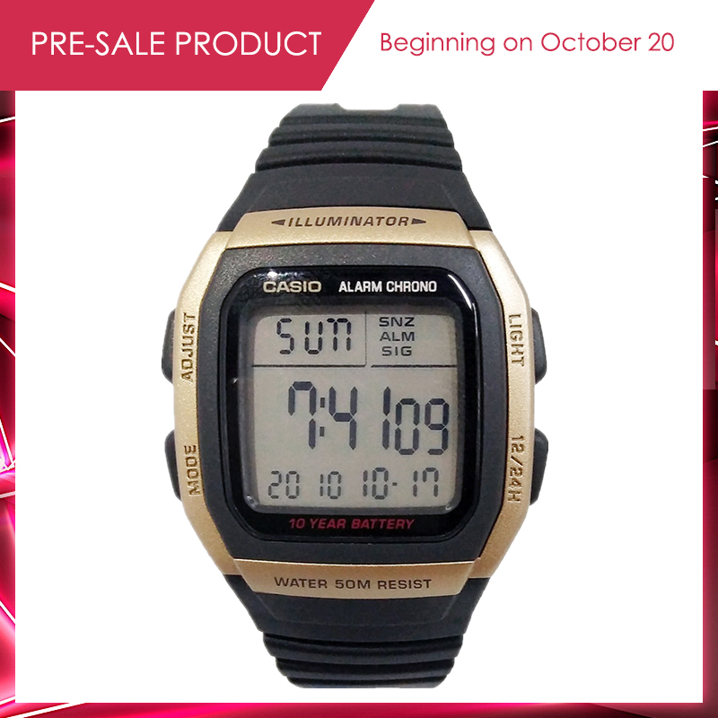 Casio watch men's fashion Digital watch fashion casual&military style wrist watch man relogio masculino Original Genuine W-96H casio casio w 96h 2a