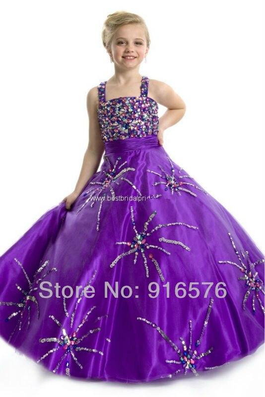 Aliexpress.com : Buy Wholesale Little Girl Pageant Dress Designer ...