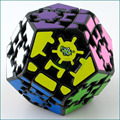 Brand New 12 surfaces Gear Magic Speed Cube Puzzle Cubes Educational Toy Megaminx Juguete