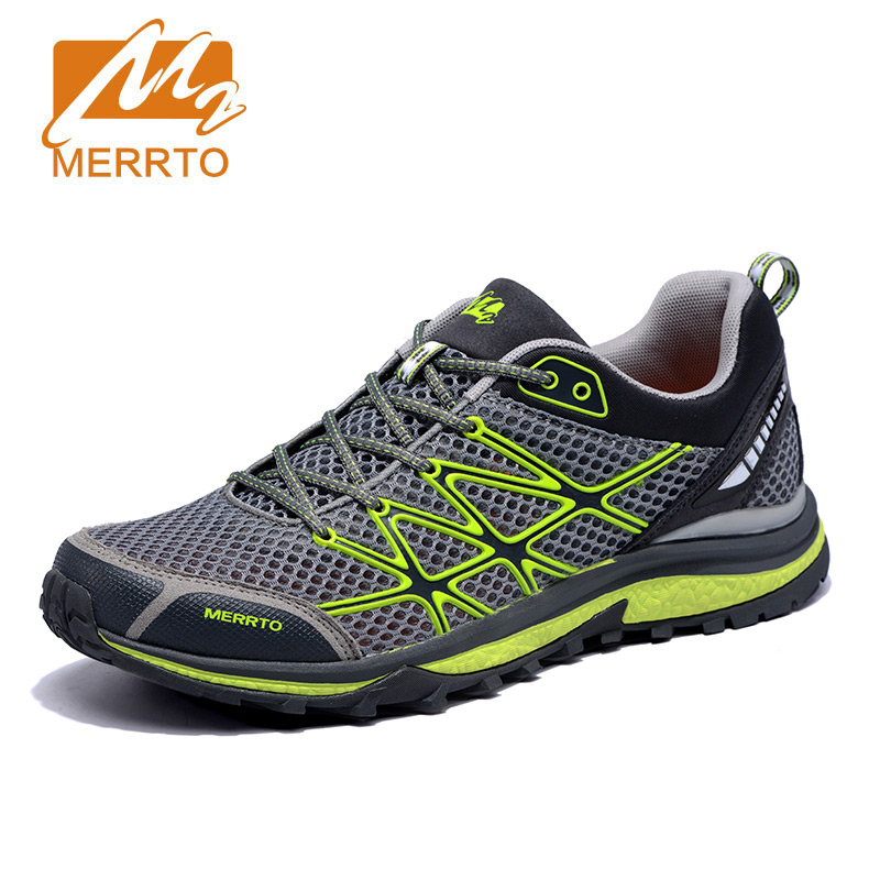 MERRTO  New Men Running Shoes Unique Shoe Design Breathable Sport Shoes Male Athletic Outdoor Sneakers Zapatos De Hombre
