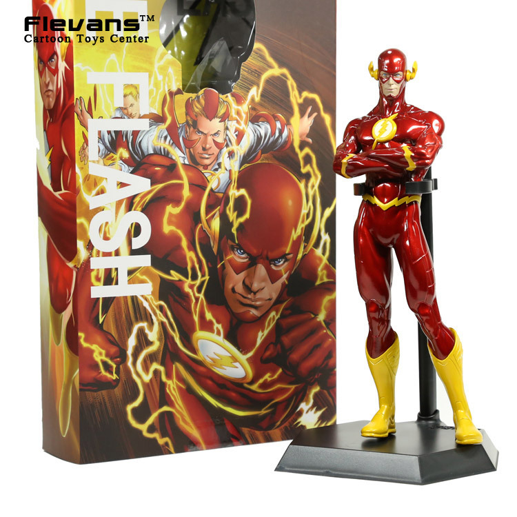Crazy Toys The Flash PVC Action Figure Collectible Model Toy 10 25cm HRFG406 the flash man aciton figure toys flash man action figures collectible pvc model toy gift for children