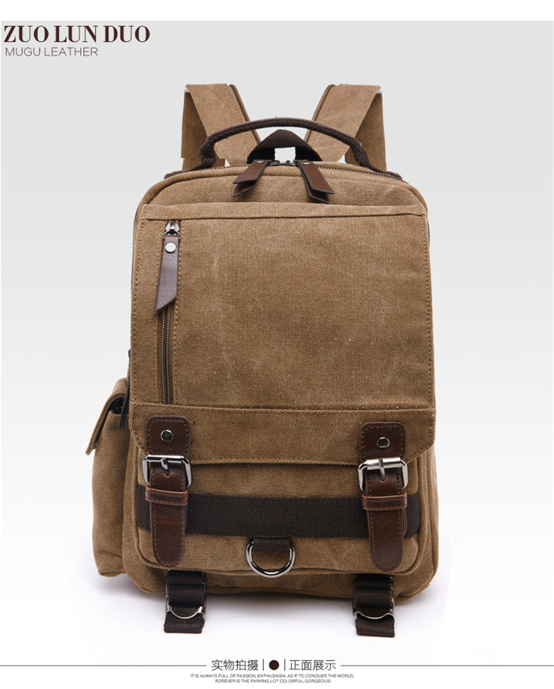 New 2017 Fashion Backpack Men s Backpack women Canvas School Backpack Bag  Rucksack Bagpack male School bag Bookbag -in Backpacks from Luggage   Bags  on ... b530c0d4e5