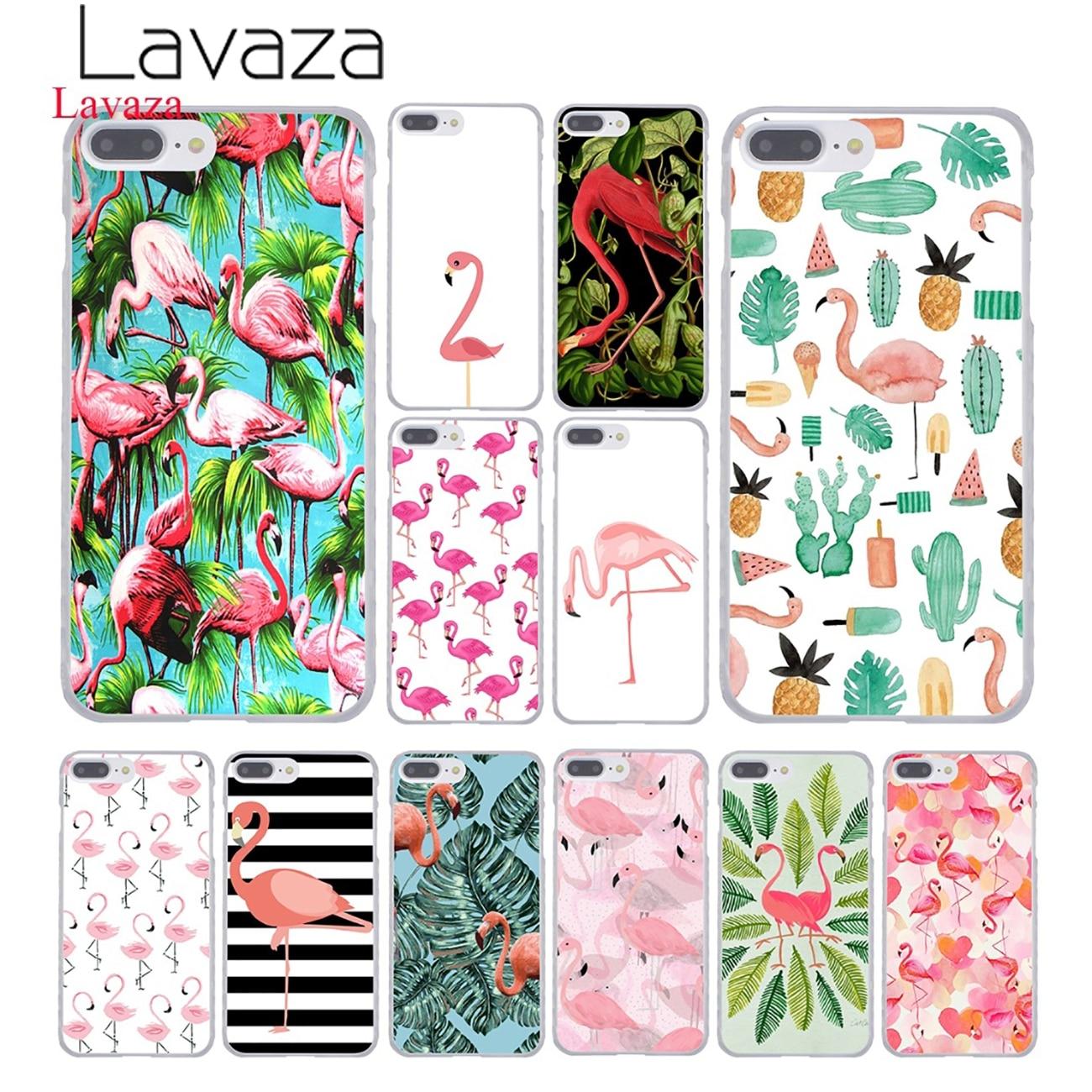 Lavaza Lips Flamingo Flamingos Themed Pool Party Hard Phone <font><b>Case</b></font> for Apple <font><b>iPhone</b></font> 8 7 6 6S Plus X <font><b>10</b></font> 5 5S SE 5C 4 4S