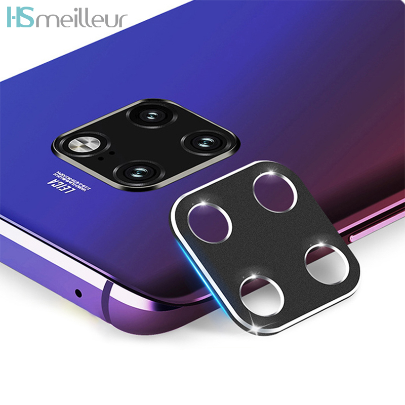 Hsmeilleur Rear Camera Metal Lens Protector Ring For Huawei Mate 20 Pro Mate20 X Back Camera Protetor Guard Cover Accessories