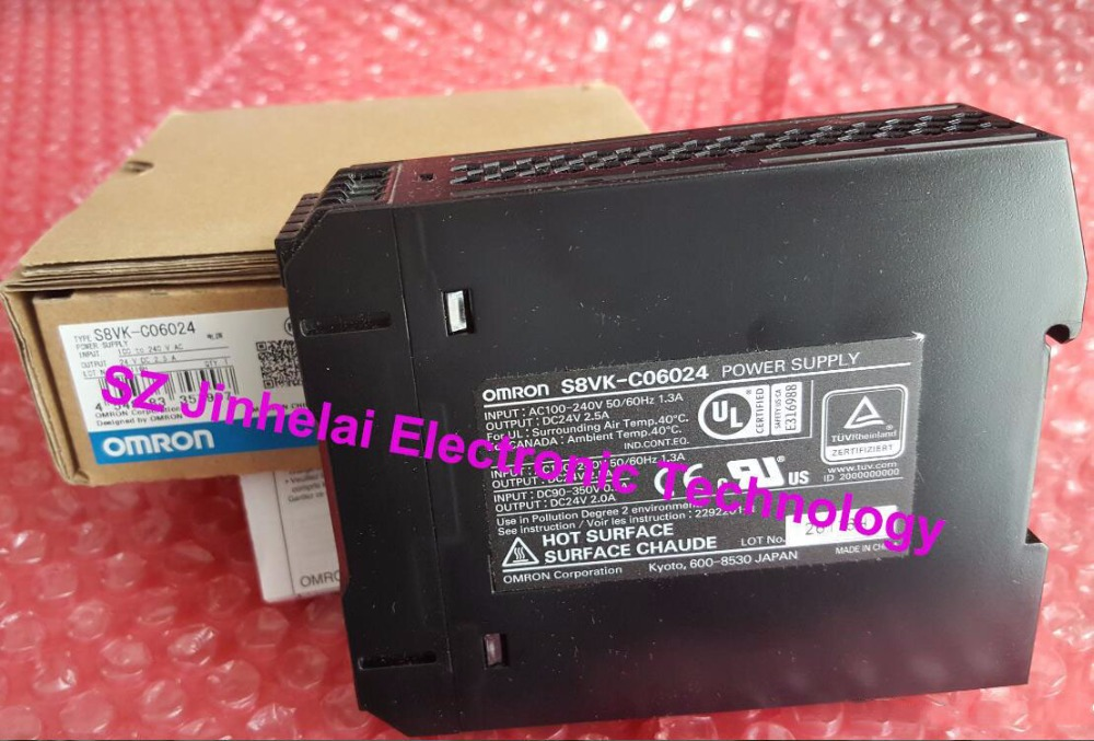 S8VK-C06024  New and original  OMRON  Power module  1pc used omron s8vs 06024