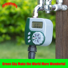 high quality LCD waterproof garden water controller стоимость