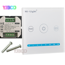 Milight P1 led Smart Panel Controller Touch Switch Adjust Brightness,DC12V-24V  Dimmer Controller for led Strip/Panel Light dc12v 4a 4ch led panel digital touch screen dimmer controller home wall light switch for rgbw led strip tape ribbon 3 channel