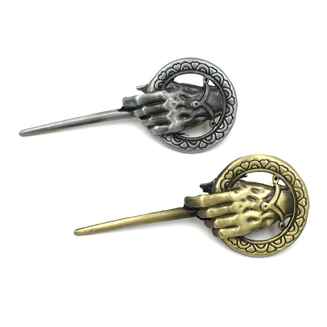 Anime Game of Thrones Song of Ice And Fire Brooch Hand of the King Lapel