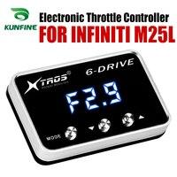 Controlador do acelerador eletrônico carro corrida acelerador poderoso impulsionador para infiniti m25l tuning peças acessório|Controlador do Acelerador eletrônico do carro| |  -
