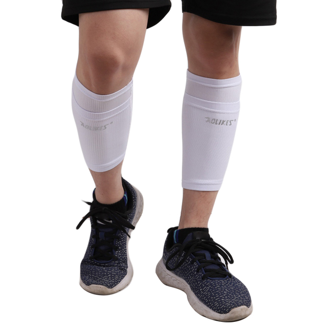 1 Pair Adult Kid Soccer Protective Socks With Pocket For Football Shin Pads Leg Sleeves Supporting Shin Guard Adult Support Sock