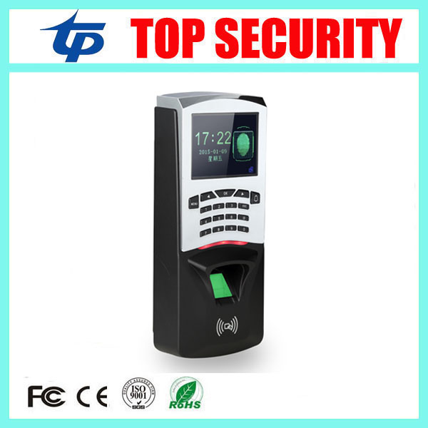 Cheap price TCP/IP USB biometric fingerprint and RFID card time attendance system TFT color screen fingerprint access control fingerprint rfid card reader keypad time attendance access control terminal usb tcp ip fast and reliable performance