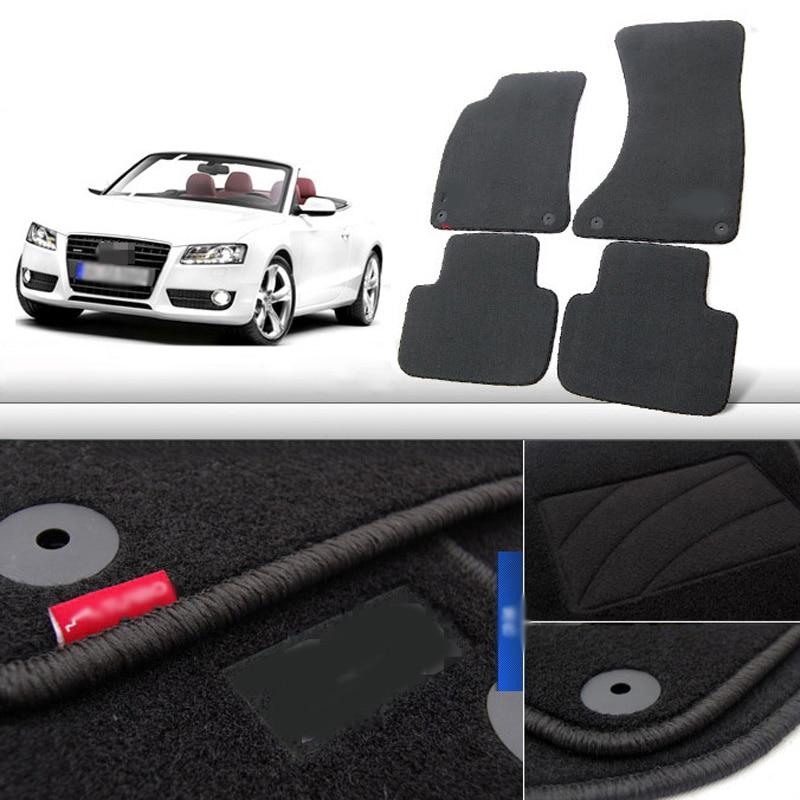 Alfombra antirresbaladiza de nylon de las esteras del piso de la tela - Accesorios de interior de coche