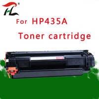 1 cartucho compatível cb435a 435a 435 35a do toner dos pces 435a para hp laserjet p1002/p1003/p1004/p1005/p1006/p1009 impressora