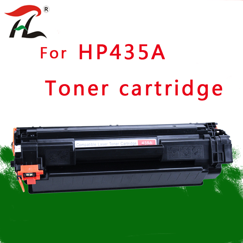 1pcs 435A Compatible <font><b>toner</b></font> cartridge CB435A 435a 435 35a for <font><b>HP</b></font> LaserJet P1002/P1003/P1004/P1005/<font><b>P1006</b></font>/P1009 printer image