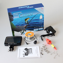"Eyoyo Original 1000TVL Underwater Ice Fishing Camera  Fish Finder 15m Cable  4.3"" Color LCD Monitor 8pcs IR LED"