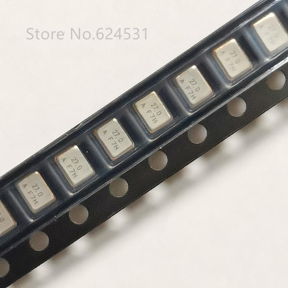 5PCS 27M 27MHz 27.000M 27.000MHz Passive Crystal 5032 SMD-4Pin 5mm×3.2mm
