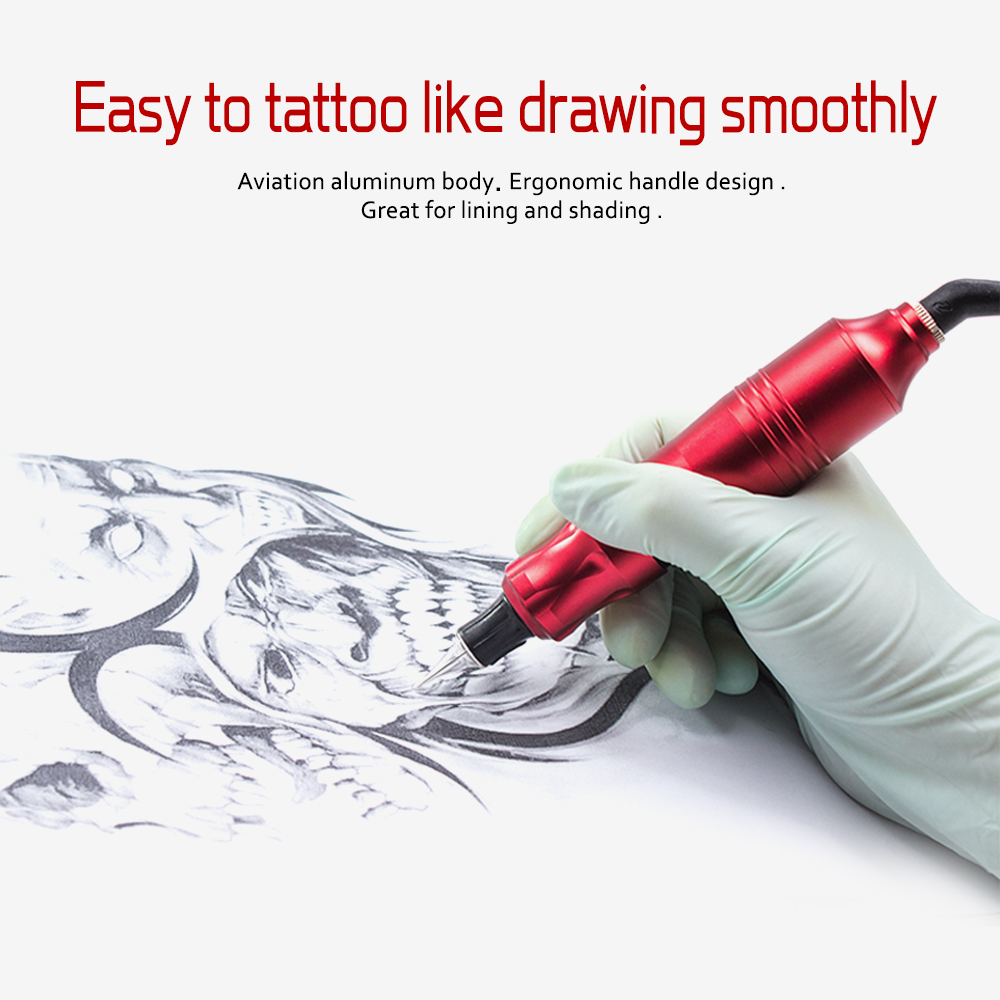 Biomaser CTG003 máquina de tatuaje rotatoria profesional pistola de tatuaje 4,5 W potente máquina de tatuaje motorista pistola rotativa suministros-in Pistolas de tatuaje from Belleza y salud    3