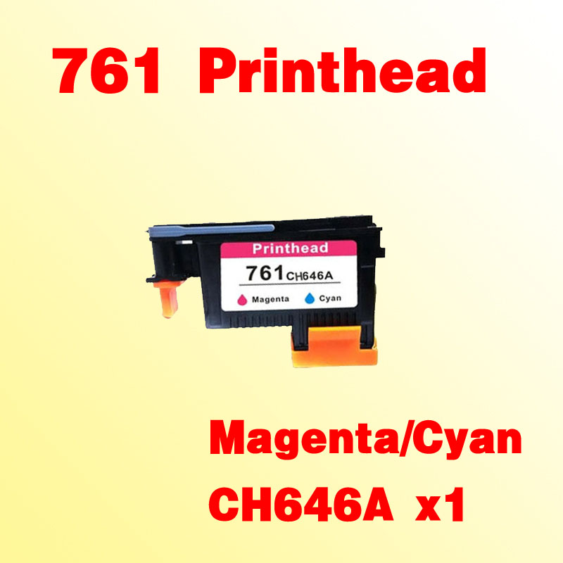 For hp761 Magenta/Cyan prinhead  for hp 761 T7100 T7200 CH646A hp 761 cm994a cyan