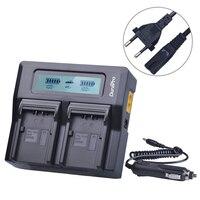 1PC LCD Dual Schnell Ladegerät Universal für CGR-D54 CGA-D54S VW-VBN130 VBN260 VBN390 VW-VBD58 VW-VBD78 AG-DVC30 AG-DVX100A Batterie