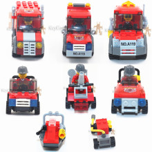 2016 New 1pcs/set Fire Series Building Blocks Brick Toys for Boys Girls Children Kids Blocks Compatible with lepin