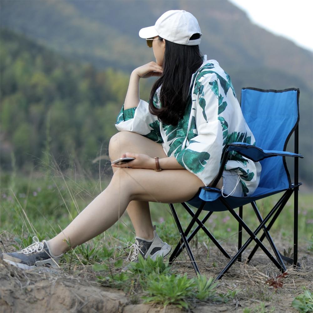 야외 캠핑을위한 울트라 라이트 접이식 낚시 의자 좌석 레저 피크닉 비치 의자 그린 블루 레드 다크 기타 낚시 도구-에서비치 의자부터 가구 의