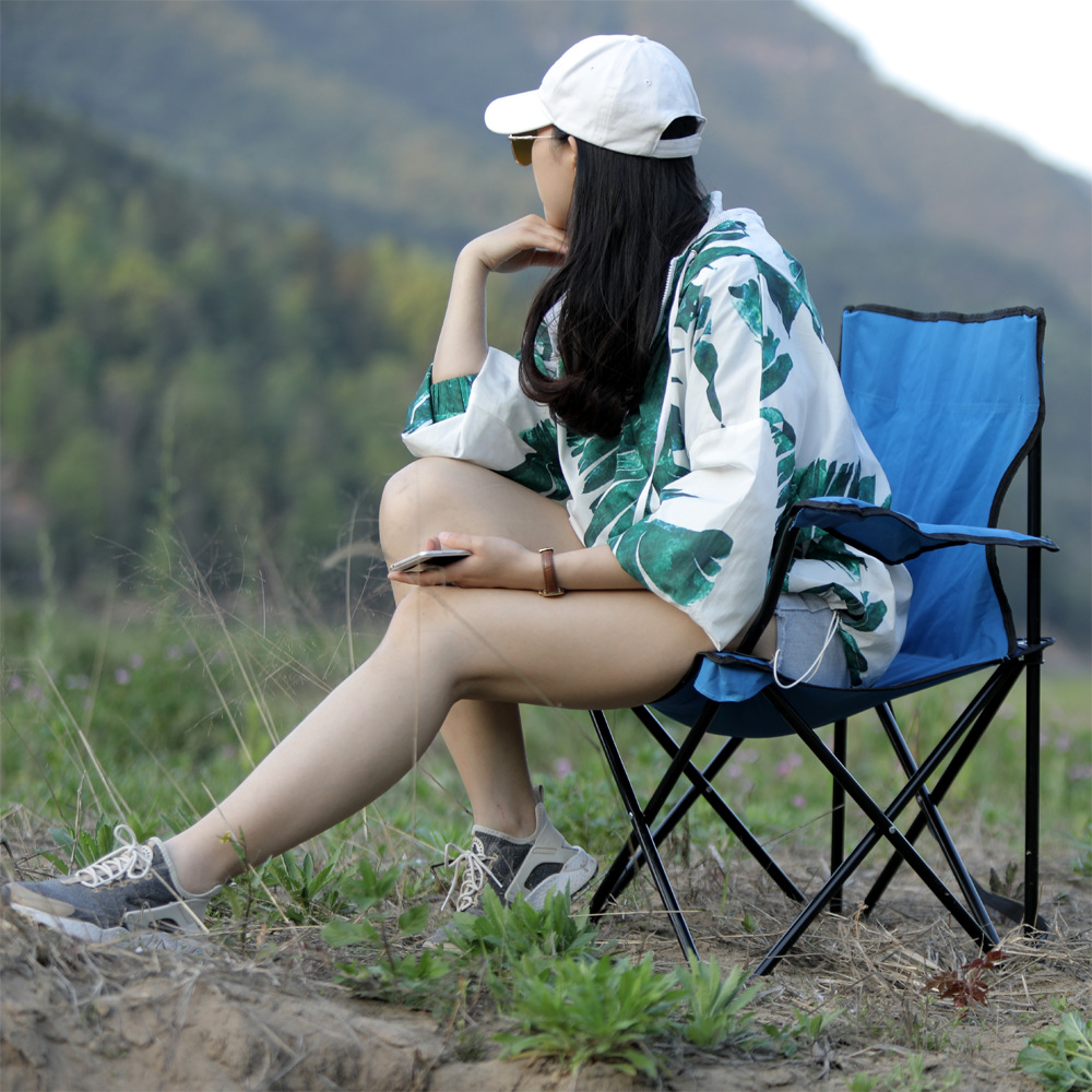 Ultra Light Folding Fishing Chair Seat For Outdoor Camping Leisure Picnic Beach Chair Green Blue Red Dark Other Fishing Tools