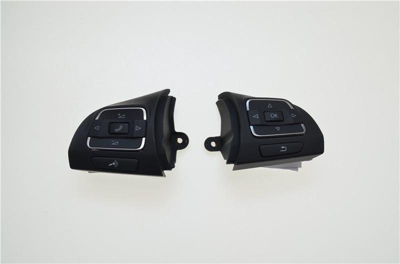 car styling Steering Wheel Control Switch Button 5C0959537A&5C0959538B For VW Golf /Jetta /MKVI/ MK6 /Eoscar styling Steering Wheel Control Switch Button 5C0959537A&5C0959538B For VW Golf /Jetta /MKVI/ MK6 /Eos