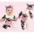 1 unid Algodón Animal Bebé Arropan los Sistemas Del Muchacho de Las Muchachas Outwear Otoño Mameluco Del Bebé Trajes-MKE023 PT49