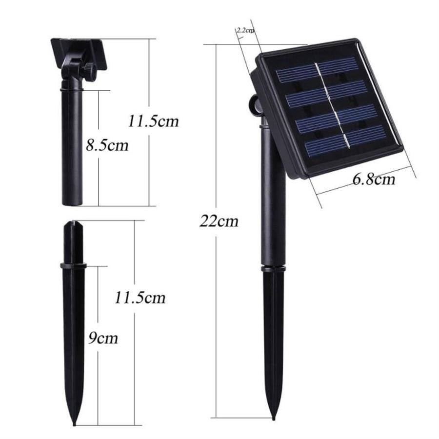 cheapest SOWOZ  led solar light outdoors waterproof  208 LED solar lamp PIR motion sensor   CDS night sensor street light  garden light