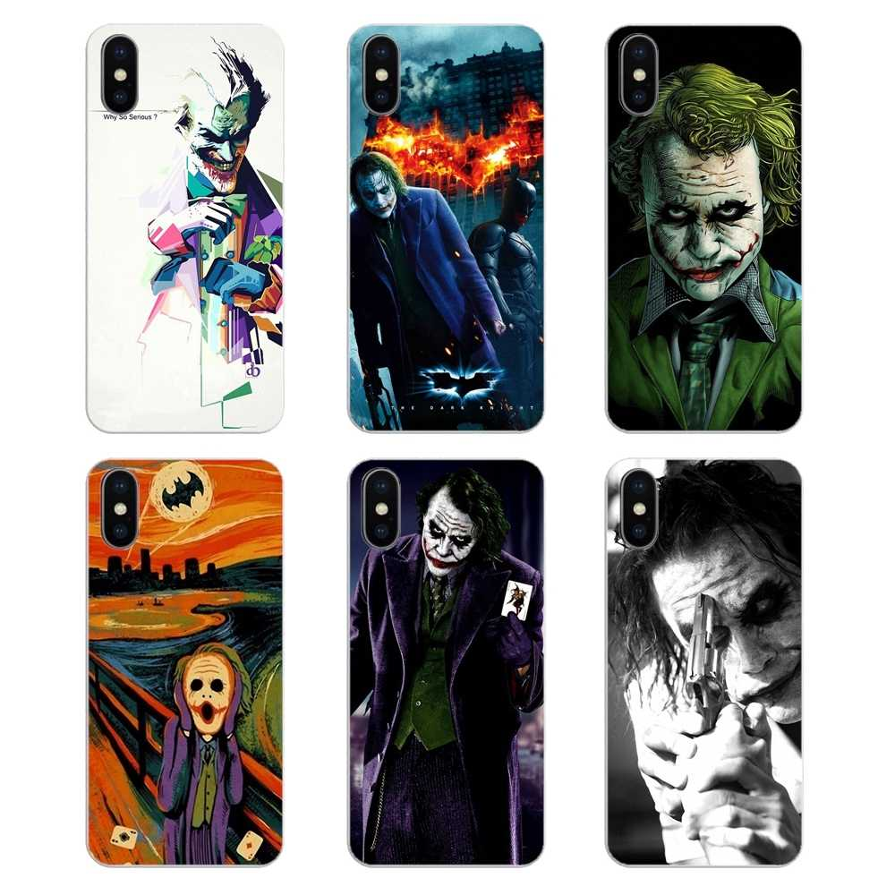 Transparente Macio Casos Dc Comics Batman Joker batman A Matar Para O iPod Touch iPhone 4 4S 5 5S 5C SE 7 6 6 S 8 X XR XS Mais MAX