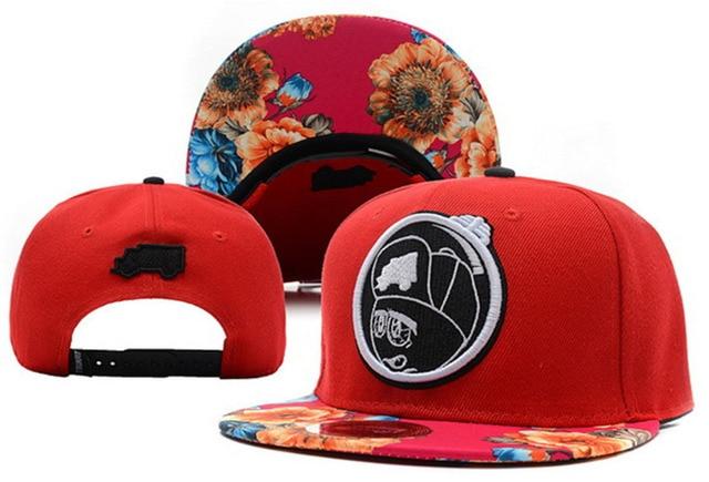 61e9d900 Floral camo TRUKFIT snapback hats for men women bones swag sun hat  adjustable baseball caps bboy