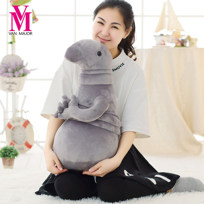 2017 Brinquedos Peluches Years Old Soft New Hot Waiting Plush Toy Zhdun Toy Meme Tubby Blob Doll Toys Homunculus Loxodontus russian fashion cute zhdun meme tubby soft stuffed plush toy waiting blob grey zhdun game plush ufo dolls gift for kids players