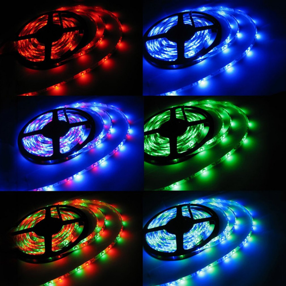 LED Light Strip Wireless Intelligent Remote Control Night Light Energy Saving Decorating Lamp For Bedroom Desktop