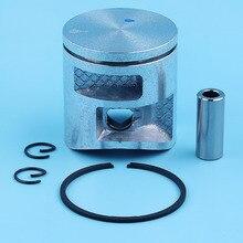 41mm Piston Ring Kit Per Husqvarna 435 440 435e 440e, 440 II Jonsered 2240 CS2240 Motosega 502625002, 502 62 50 02 Pezzo di Ricambio