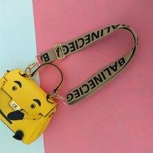 120cm Adjustable Women Bag Strap Trendy Stripe Design Gold Buckle Lady Shoulder Straps Easy Matching Plaid Style Bag Belts Beige