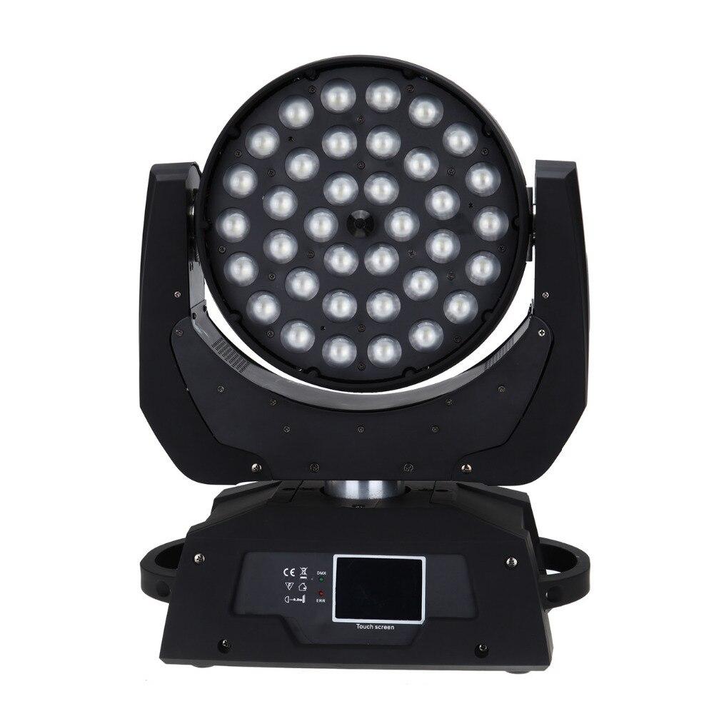 (Envío desde la UE) 2 unids/lote 36x10W RBGW rojo verde azul blanco LED Zoom efecto de lavado Disco cabeza de la lámpara DJ iluminación de escenario - 3