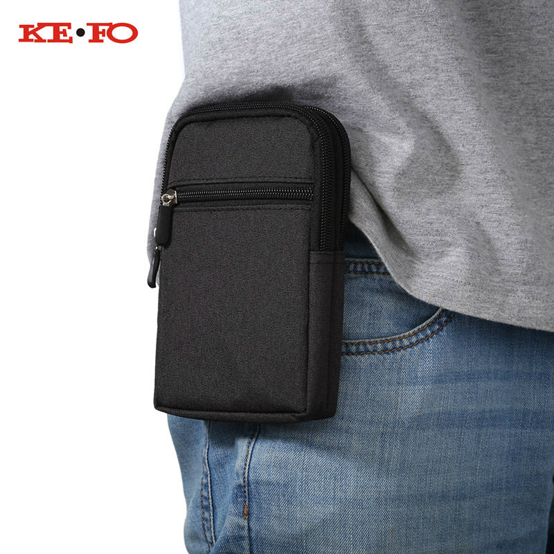 Universal Denim Leather Cell Phone Bag Belt Clip Pouch Waist Purse Case Cover For Homtom HT17 HT20 HT3 HT5 HT6 HT7 HT10 HT3 pro