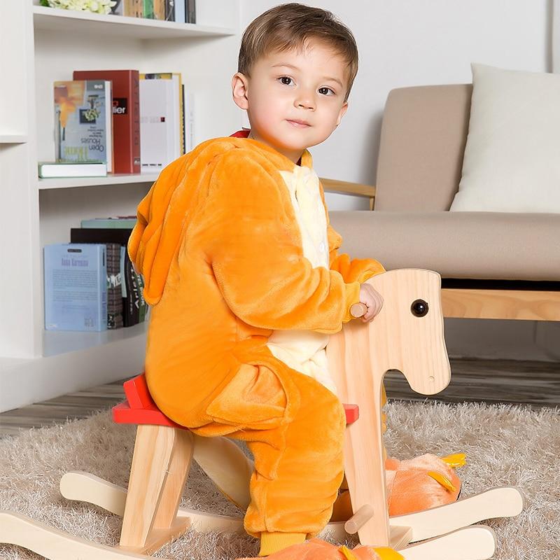 Children dinosaur cute pajamas conjoined flannel pijamas small fire dragon Boy pokemon Go winter Kids cartoon animal pyjamas