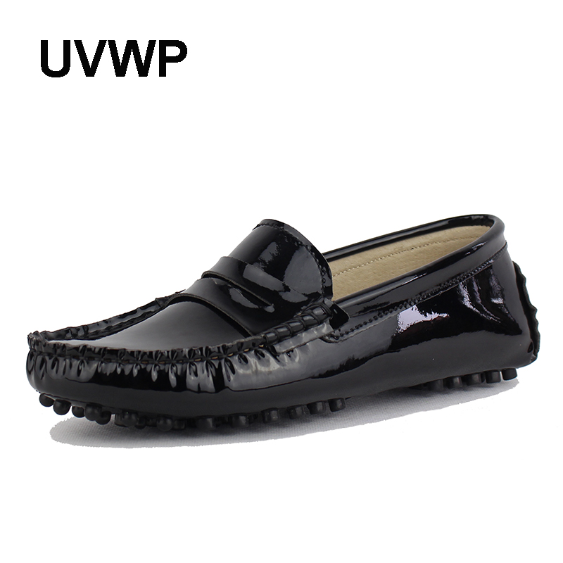 New Design Women Flat Shoes Pu Leather Women Flats Driving Shoes Comfortable Soft Moccasins Fashion Casual Leather Shoes-in Women's Flats from Shoes