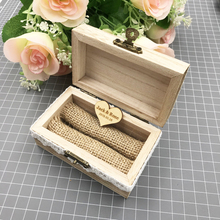 Vintage Personalized Custom-Made Wood Box