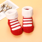 Thick Warm Winter Terry Baby Socks Newborn Baby Socks Cute Candy Color Black Cotton Baby Socks For Girls Boy Clothes 0-24 months