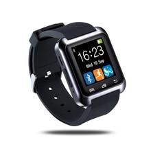 Heiße Bluetooth Smart Uhr U80 android Smartwatch Pedometer Gesundheit Armbanduhr Unterstützung Schlaf-monitor Sync Smartwatch Für Samsung