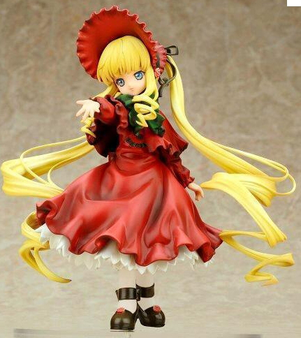 19cm Japanese anime figure Japan original ver Shinku Rose maiden action figure collectible model toys for boys19cm Japanese anime figure Japan original ver Shinku Rose maiden action figure collectible model toys for boys