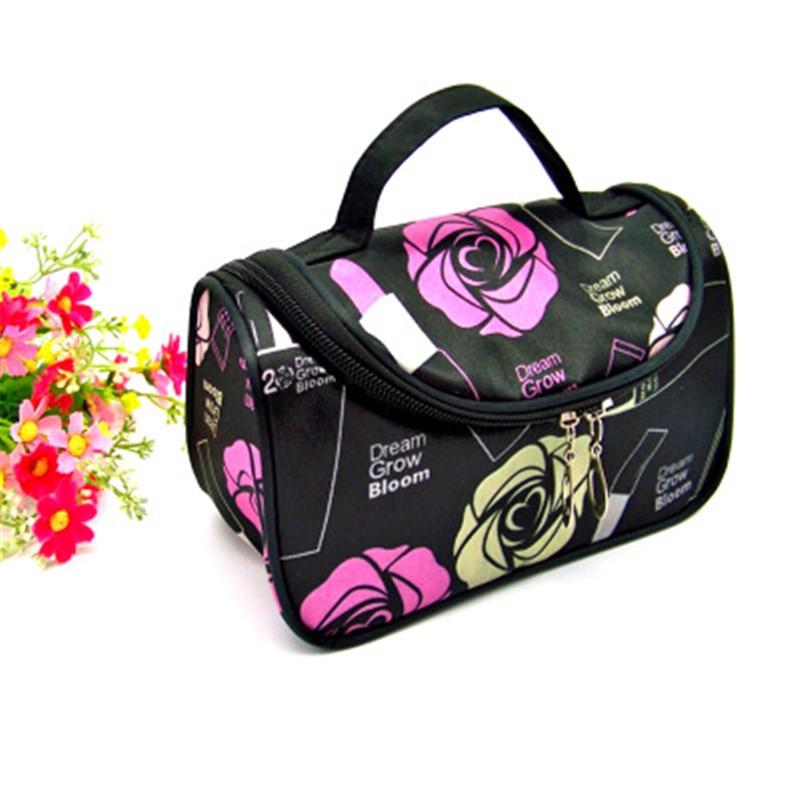Brand Women's Waterproof Cosmetic Bag Travel Makeup Storage Bag Portable Small Bag Essential Beauty Travel Wash Bag Cosmetic Bag