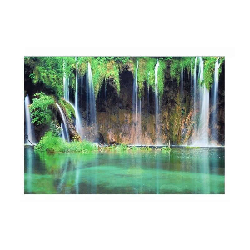 9081 23 3 x 60 double sided color fish waterfall fish tank