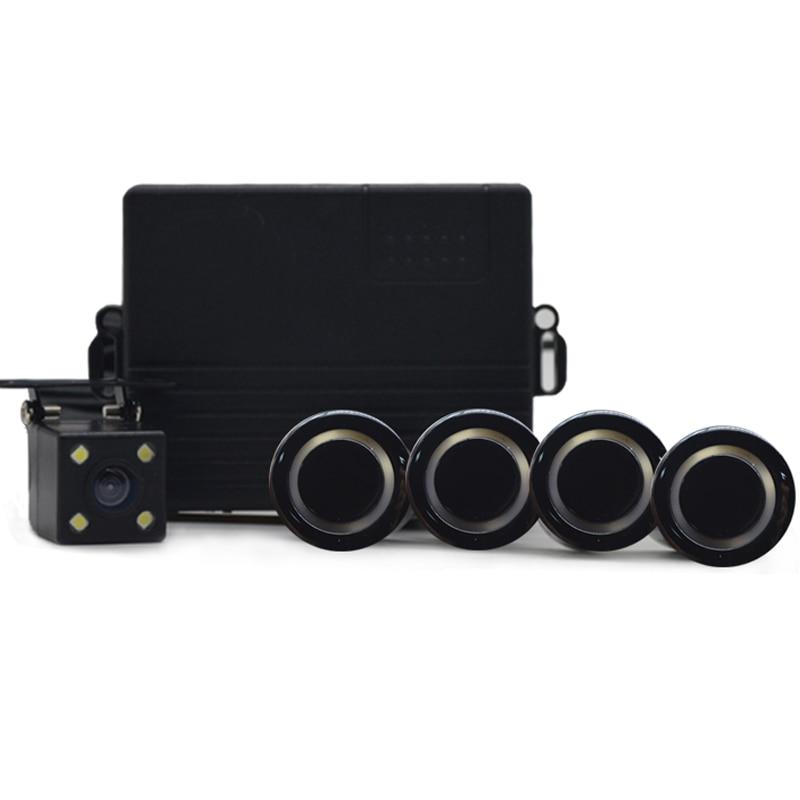 Ny2208 парковка Сенсор обратный резервный помощь Автомобиль визуально вспять радар изображения Системы + Авто заднего Камера зеркало Монитор...