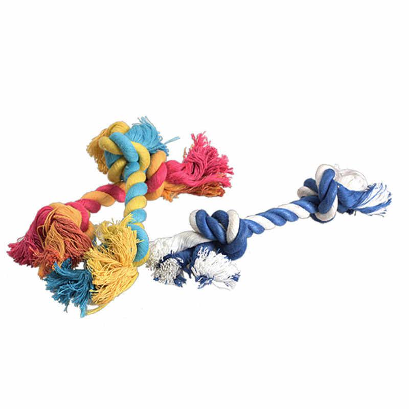 1/2pc 17cm Hoge Kwaliteit Honden Mooie Grappige Gesimuleerde Bone Gevlochten Touw Chew Knot Toy